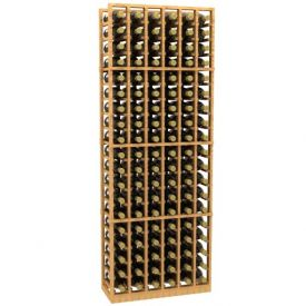 Enlarge Allavino 6 Column 114 Individual Bottle Wood Wine Rack