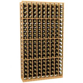 Enlarge 9 Column Wood Wine Rack