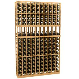 Enlarge Allavino 10 Column 170 Bottle Wood Wine Rack with Display Row