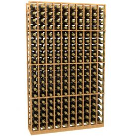 Enlarge 10 Column Wood Wine Rack