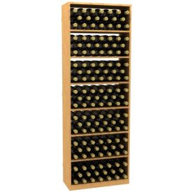 Enlarge Allavino 6' Solid Rectangular Wood Wine Bin