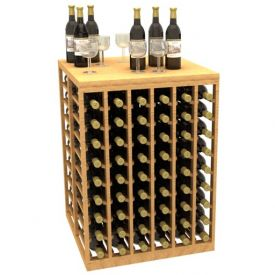 Enlarge Allavino Wood Wine Tasting Table and Storage Rack