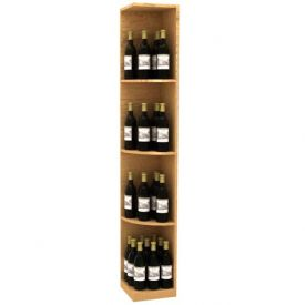 Enlarge Allavino Solid Quarter Round Wood Wine Display - Square Base