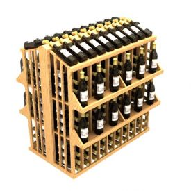Enlarge Allavino Commercial Four Shelf Aisle 300 Bottle Wood Wine Rack