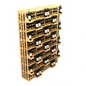 Enlarge Allavino Commercial Retail Stacker Four Column 416 Bottle Wood Wine Rack