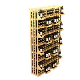 Enlarge Allavino Commercial Retail Stacker Three Column 312 Bottle Wood Wine Rack