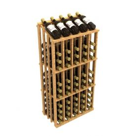 Enlarge Allavino Commercial Aisle 65 Bottle Wood Wine Rack