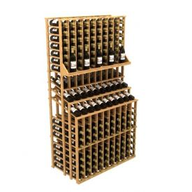Enlarge Allavino Commercial Triple Tier 300 Bottle Wood Wine Rack