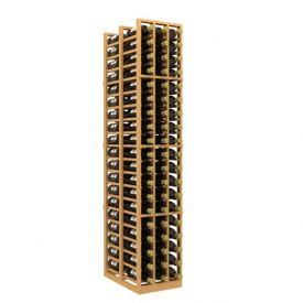 Enlarge Allavino Double Deep 3 Column 114 Bottle Wood Wine Rack