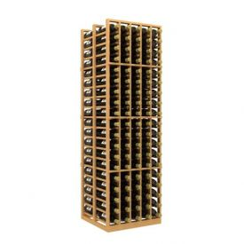 Enlarge Allavino Double Deep 5 Column 190 Bottle Wood Wine Rack