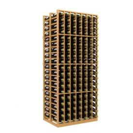 Enlarge Allavino Double Deep 7 Column 266 Bottle Wood Wine Rack