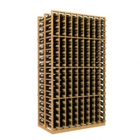 Enlarge Allavino Double Deep 9 Column 342 Bottle Wood Wine Rack