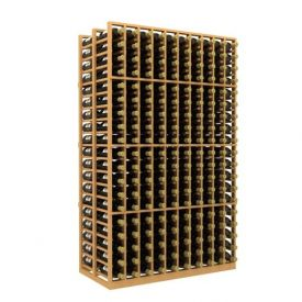 Enlarge Allavino Double Deep 10 Column 380 Bottle Wood Wine Rack