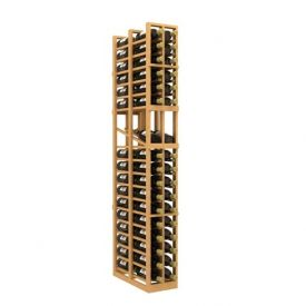Enlarge Allavino Double Deep 2 Column 68 Bottle Wood Wine Rack with Display Row