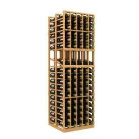Enlarge Allavino Double Deep 5 Column 170 Bottle  Wood Wine Rack with Display Row