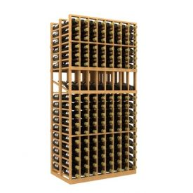 Enlarge Double Deep 8 Column Wine Rack Display