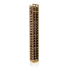 Enlarge Allavino 7' Two Column 42 Bottle Standard Wood Wine Rack