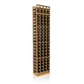 Enlarge Allavino 7' Four Column 84 Bottle Standard Wood Wine Rack