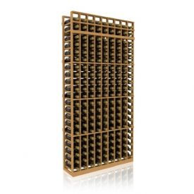 Enlarge Allavino 7' Nine Column 189 Bottle Standard Wood Wine Rack
