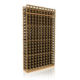 Enlarge Allavino 7' Ten Column 210 Bottle Standard Wood Wine Rack