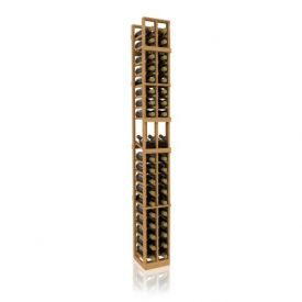 Enlarge Allavino 7' Two Column 38 Bottle Wood Wine Rack with Display Row