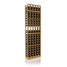 Enlarge 7' Five Column Display Wood Wine Rack