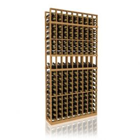 Enlarge Allavino 7' Nine Column 153 Bottle Wood Wine Rack with Display Row