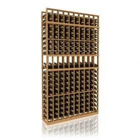 Enlarge Allavino 7' Ten Column 190 Bottle Wood Wine Rack with Display Row