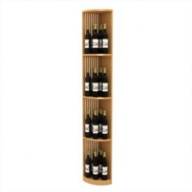 Enlarge Allavino Lattice Quarter Round Wood Wine Display