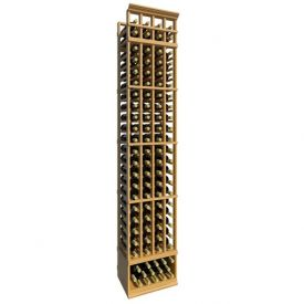 Enlarge Allavino 8' Four Column 92 Bottle Standard Wood Wine Rack