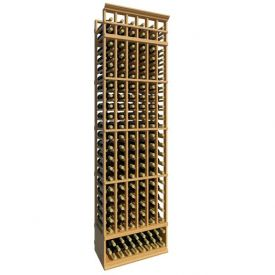 Enlarge Allavino 8' Six Column 138 Bottle Standard Wood Wine Rack