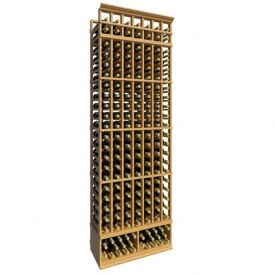 Enlarge Allavino 8' Seven Column 161 Bottle Standard Wood Wine Rack