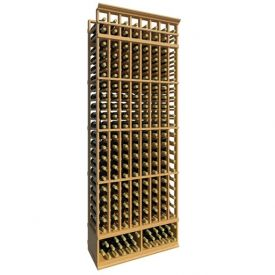Enlarge Allavino 8' Eight Column 168 Bottle Standard Wood Wine Rack