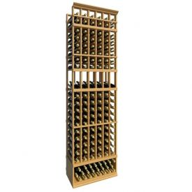 Enlarge Allavino 8' Six Column 126 Bottle Wood Wine Rack with Display Row
