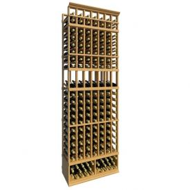 Enlarge 8' Seven Column Display Wood Wine Rack