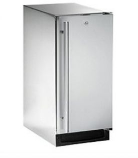 Enlarge U-Line 2115RSOD-01 3.3 Cu. Ft. Outdoor Refrigerator - Stainless Steel Cabinet with Stainless Steel Door - Left Hinge
