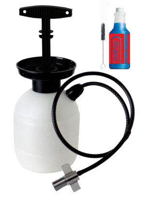3 Photo of Draftec Deluxe Hand Pump Pressurized Keg Beer Kegerator Cleaning Kit w/ 32 oz. Cleaner