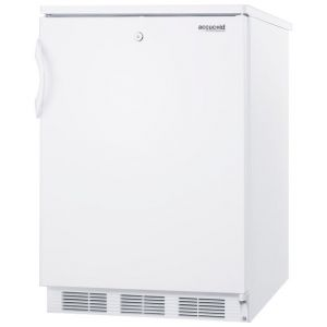 Photo of 5.5 cf Undercounter All Refrigerator White w/Lock