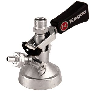 3 Photo of Keg Taps Coupler G System - Ergonomic Lever Handle - Stainless Steel Probe