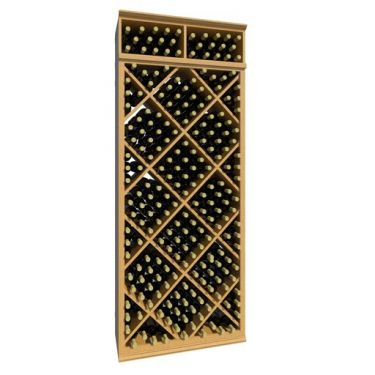 7' Diamond Wine Storage Bin