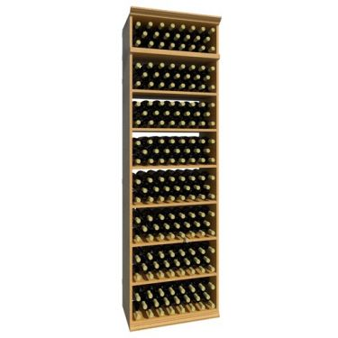 7' Solid Rectangular Wine Bin