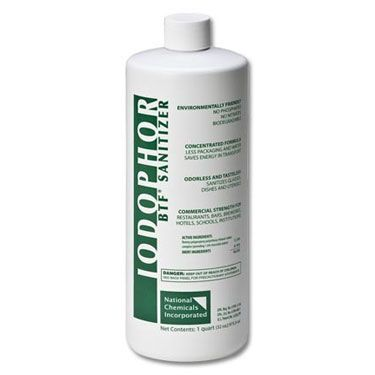 BTF Iodophor Sanitizer Cleaner
