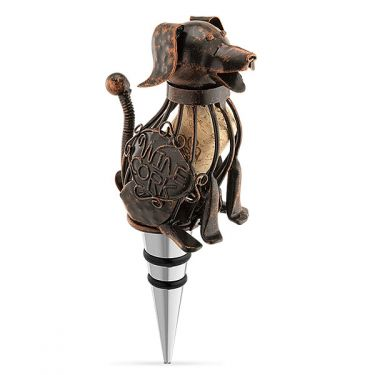 Corky the Dog Bottle Stopper