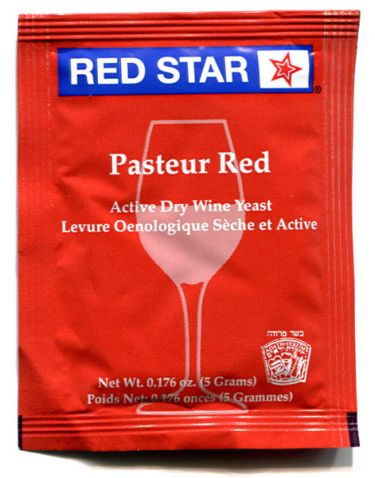 Pasteur Red Wine Yeast