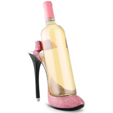 Pink Stiletto Bottle Holder