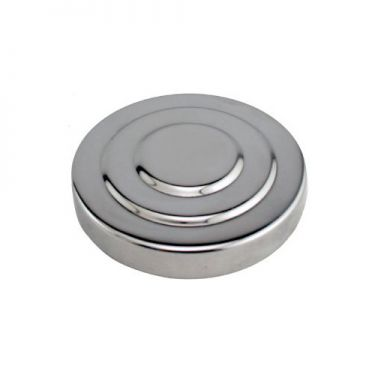 3 Inch Chrome Plated Tower Cap