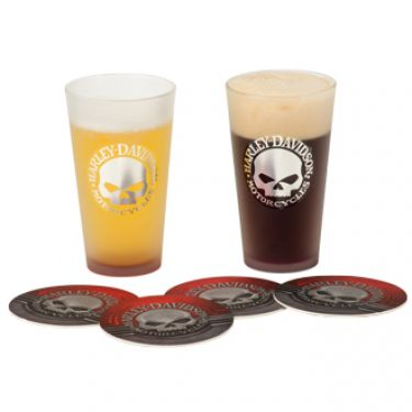 Harley-Davidson Pint Glasses