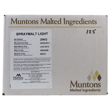 Muntons Light LME - 55lb Box