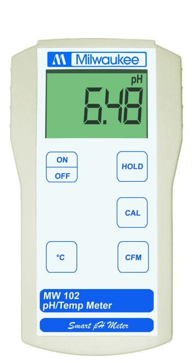 Milwaukee MW102 pH meter