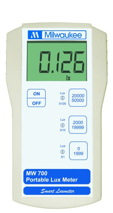 Milwaukee MW700 LUX Meter